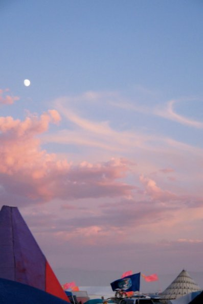 BurningMan_Moon_Sunset